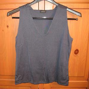 AKRIS v neck camisole tank silk stretch size 12